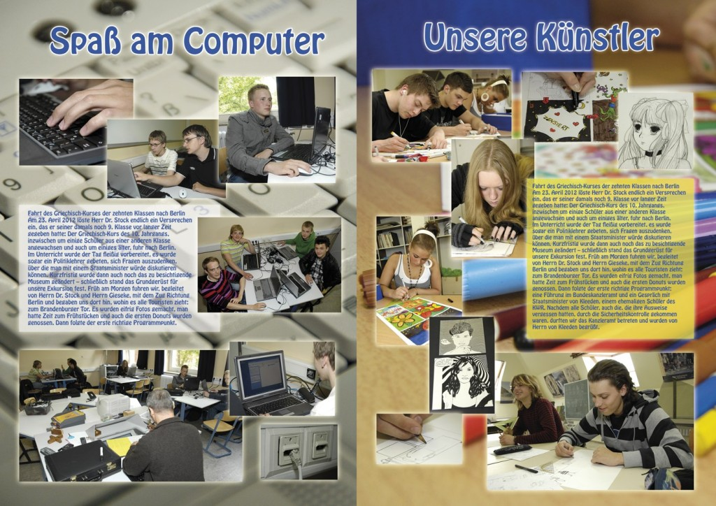 Jahrbuch Dppelseite