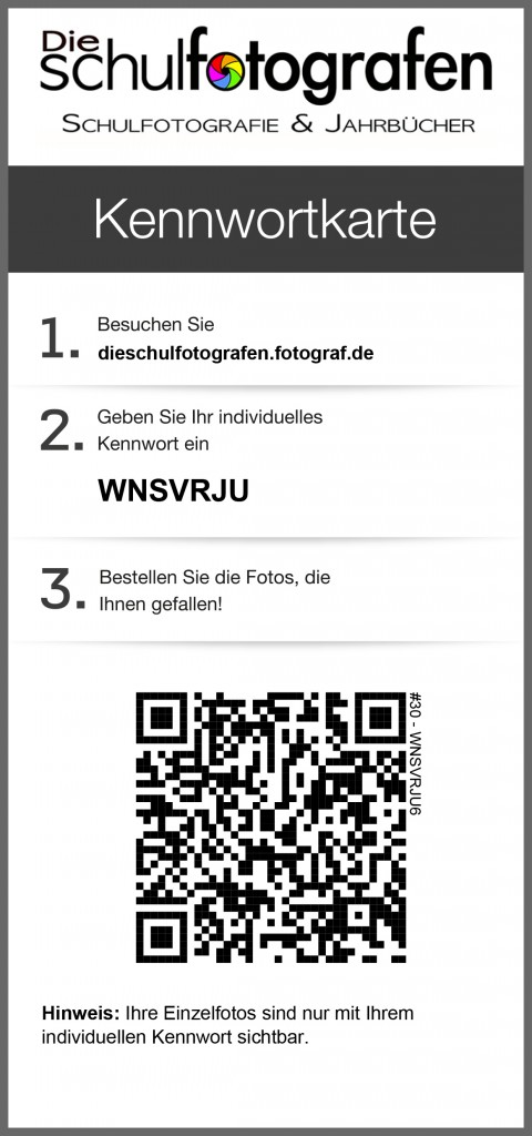 Kennwortkarte